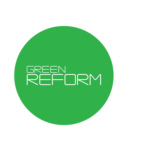 Green REFORM logo